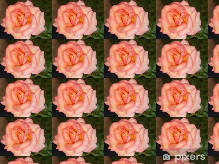 Carta da parati in vinile su misura Rose épanouie - Temi
