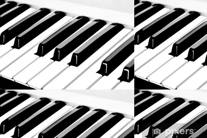 Vinylová Tapeta Klavíru - Hudba