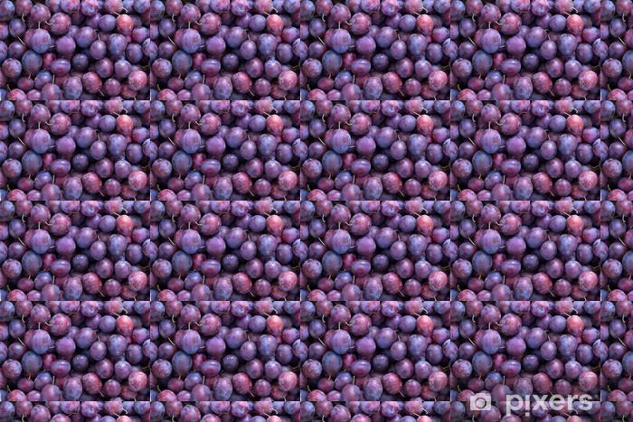 Tapeta na wymiar winylowa Śliwki, owoców, niebieski - Rolnictwo