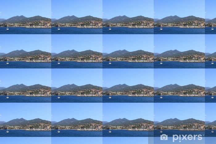 Vinylová tapeta na míru Port de Propriano na Korsice - Evropa