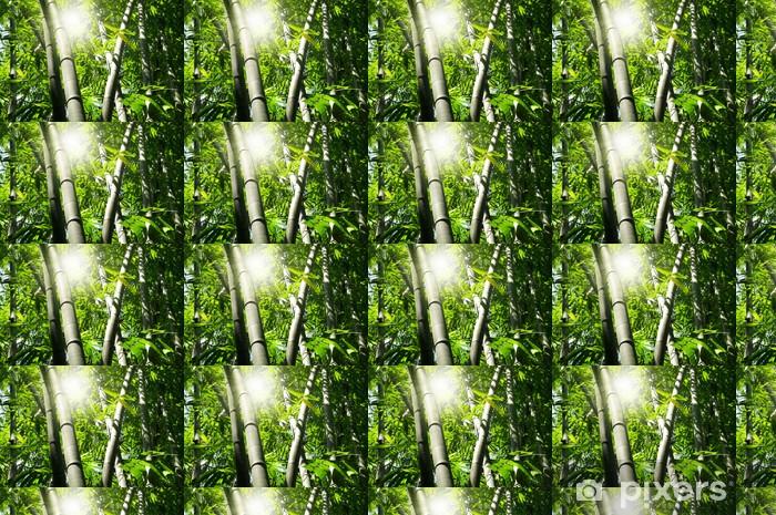 Papel de parede em vinil à sua medida Bamboo tree - Temas