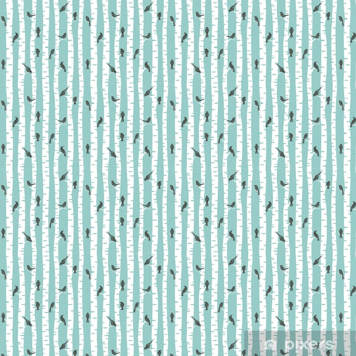 Vinyl behang, op maat gemaakt Bomenpatroon - Andere Andere