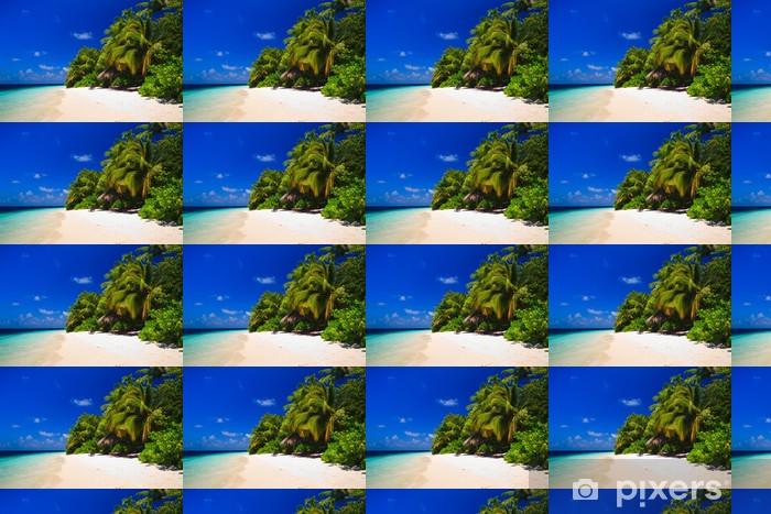 Papier peint vinyle sur mesure Tropical Paradise à Maldives - Eau