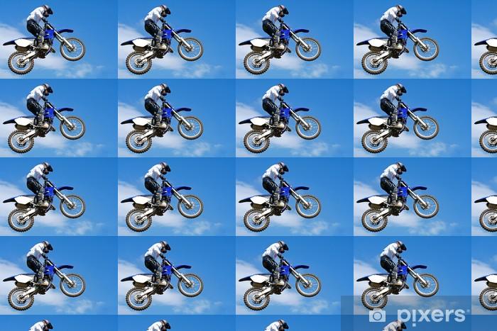 Tapeta na wymiar winylowa Motocross skoki - Sporty ekstremalne