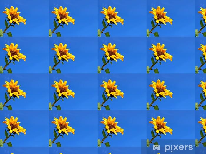 Tapeta na wymiar winylowa Jasny żółty słonecznik - Pory roku