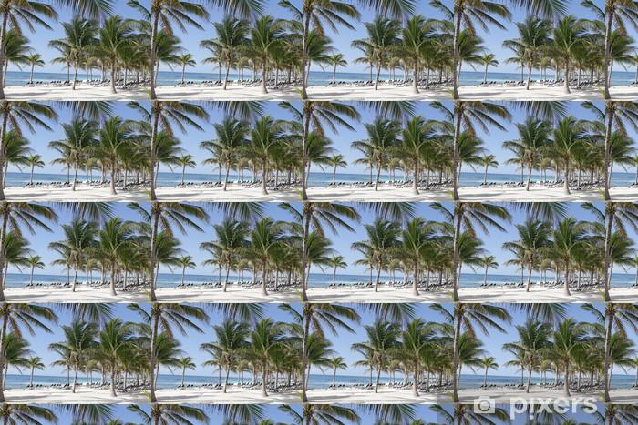 Vinyl behang, op maat gemaakt Riviera Maya Mexico Beach - Vakantie