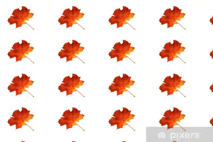 Papier peint vinyle sur mesure Feuille d'érable à l'automne - Saisons