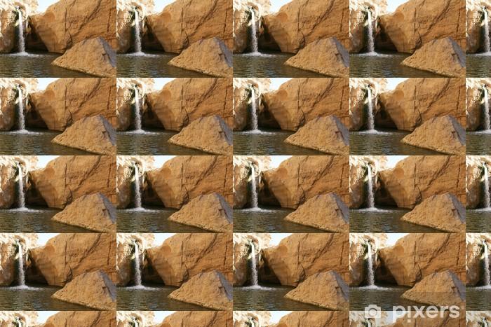 Tapeta na wymiar winylowa Wodospad w oazie - Woda