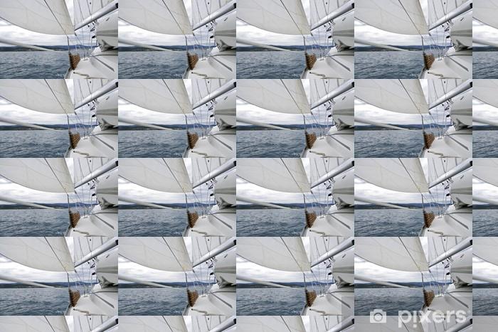 Papier peint vinyle sur mesure La voile - Sports aquatiques