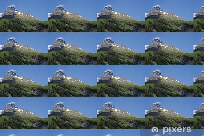 Vinyl behang, op maat gemaakt Alpen, berg, bergen, Oostenrijk - Buitensport