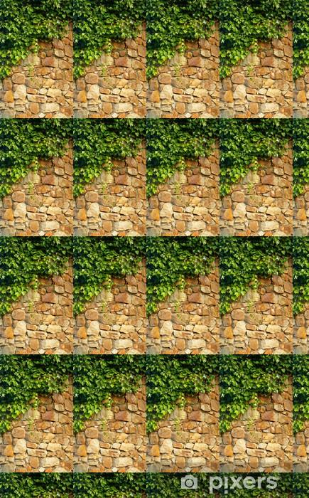 ivy climbing the old wall Vinyl custom-made wallpaper - Textures