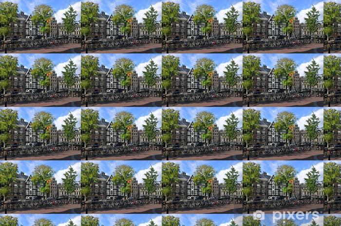 Tapeta na wymiar winylowa Budynki i rowery - Miasta europejskie