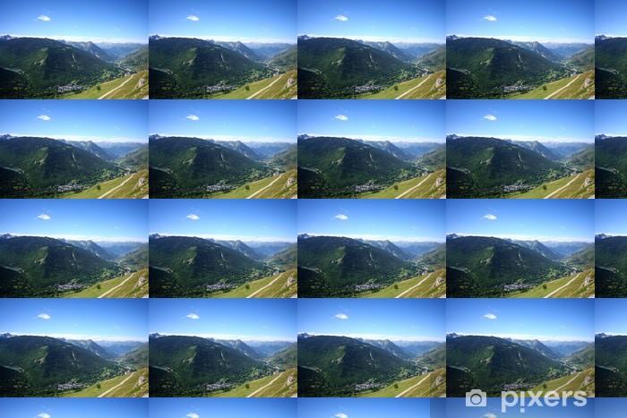 Papier peint vinyle sur mesure Vue panoramique sur la vallée de l'Aran - Vacances