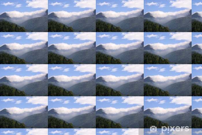 Tapeta na wymiar winylowa Mgiełka - Góry