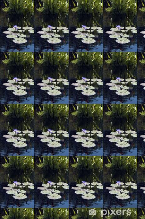 Papier peint vinyle sur mesure Nymphaea nouchali - Amérique