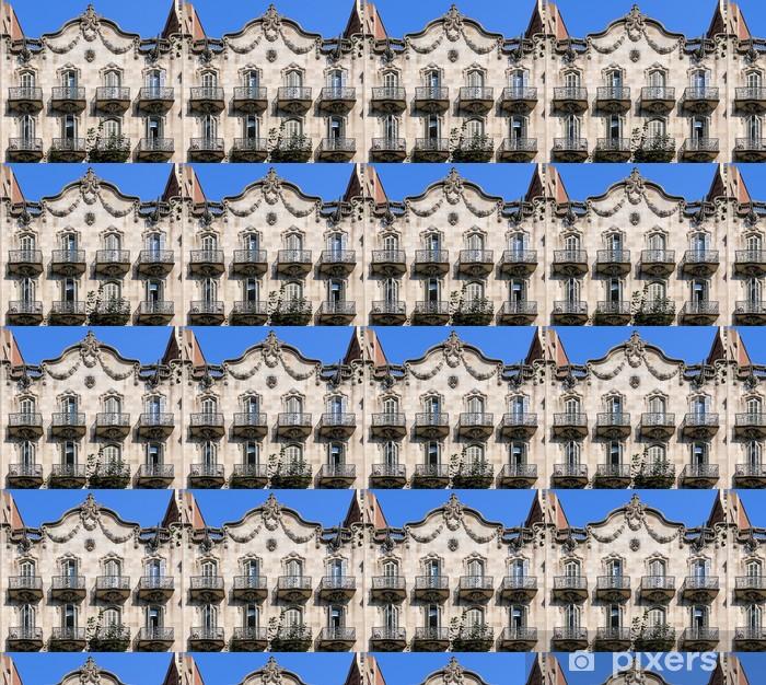 Barcelona - Girona 046 b Vinyl custom-made wallpaper - European Cities