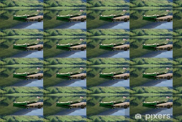 Tapeta na wymiar winylowa Trzy zacumowane łodzie rybackie - Transport wodny