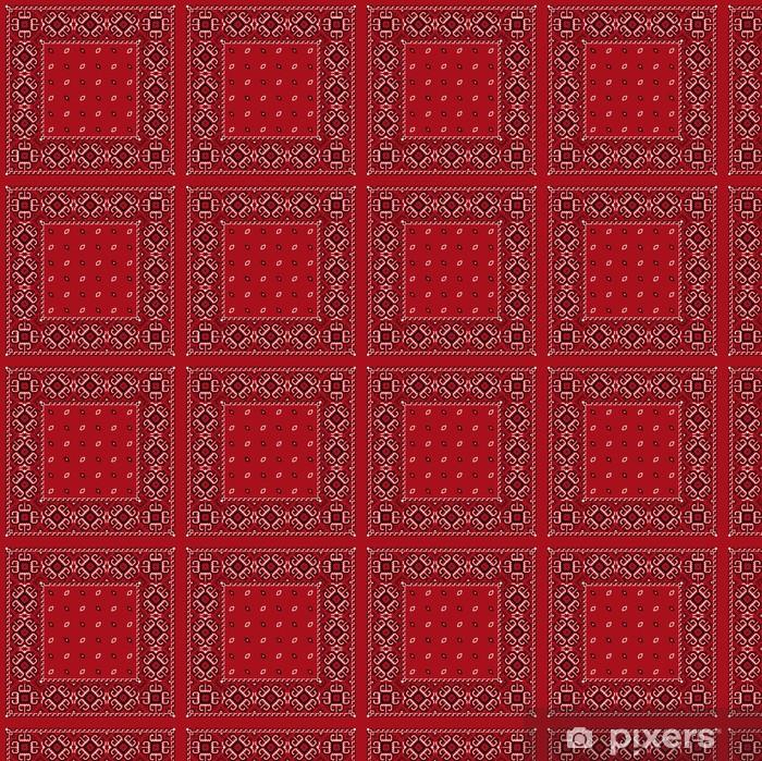 Tapeta na wymiar winylowa Czerwona chustka - Moda