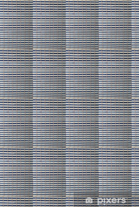 Tapeta na wymiar winylowa Tekstura z niebieskim mat bambusowych. - Sklepy