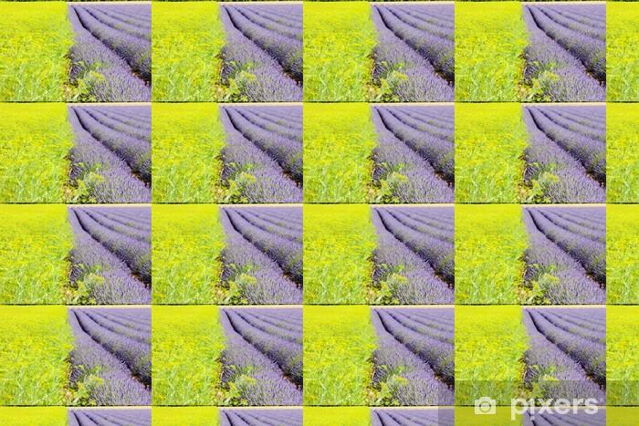 Vinyltapete nach Maß Lavendelfeld, Plateau de Valensole, Provence, Frankreich - Europa