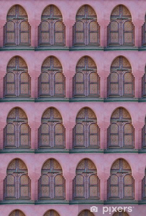 Vinylová tapeta na míru Porta decorata, Marrakech, Maroko - Památky