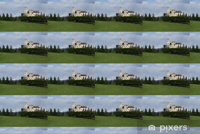 Tapeta na wymiar winylowa Castello di Villalta 1 - Wakacje