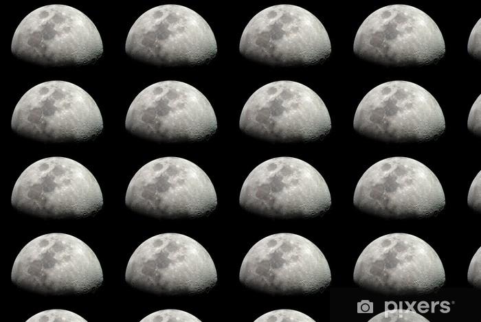 Papier peint vinyle sur mesure Mond - Thèmes