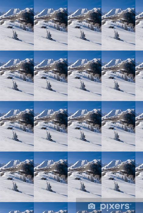 Vinyltapete nach Maß Winter landschaft - Winter
