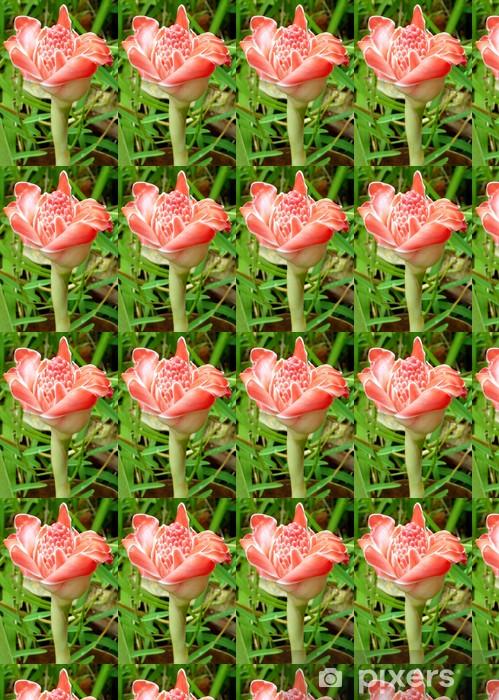 Tapeta na wymiar winylowa Pink porcelany - Kwiaty