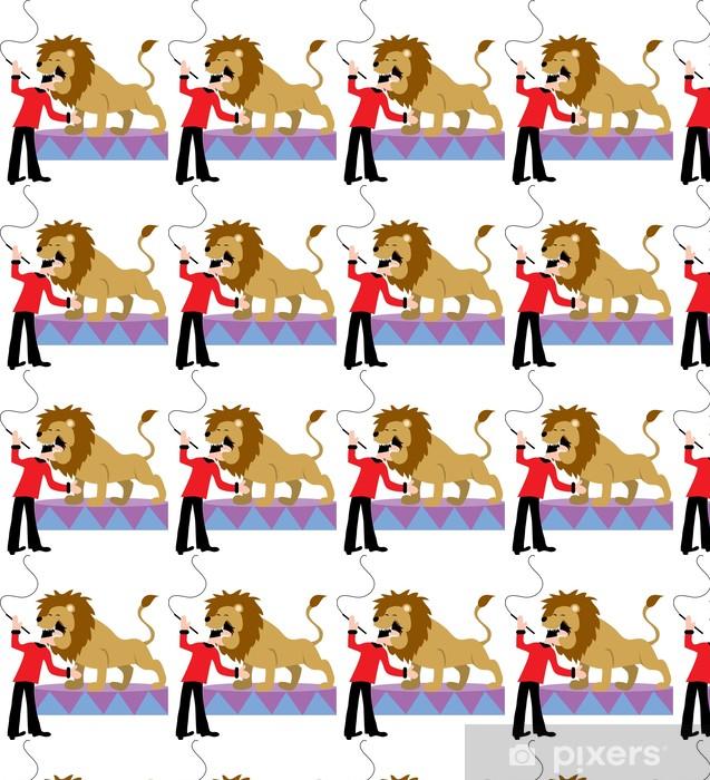 444fdc01d762b Papier peint à motifs Dompteur de lions • Pixers® - Nous vivons pour ...