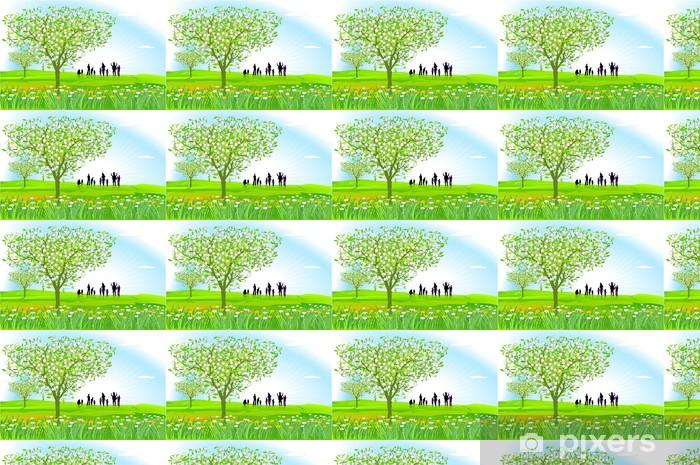 Tapeta na wymiar winylowa Wiosna - Wakacje