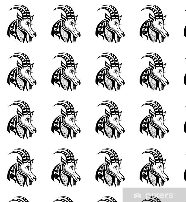 Tapeta Znaki Zodiaku Koziorożec Wzór Tatuażu Na Wymiar