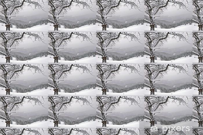 Papier peint vinyle sur mesure D hiver - Saisons
