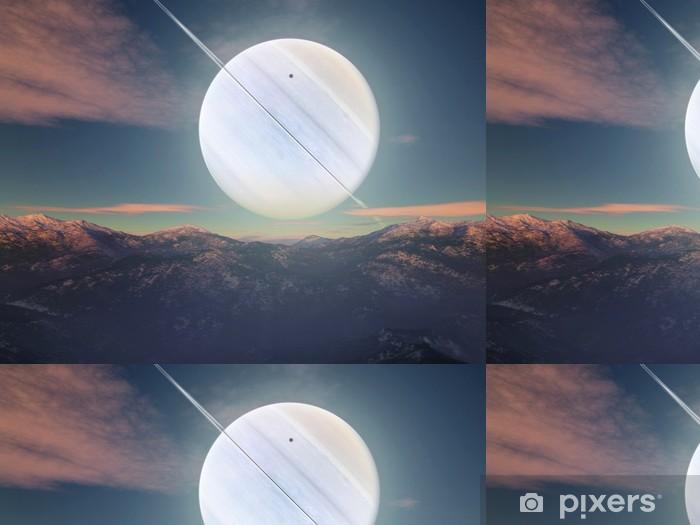 Vinylová Tapeta Paesaggio immaginario - Meziplanetární prostor