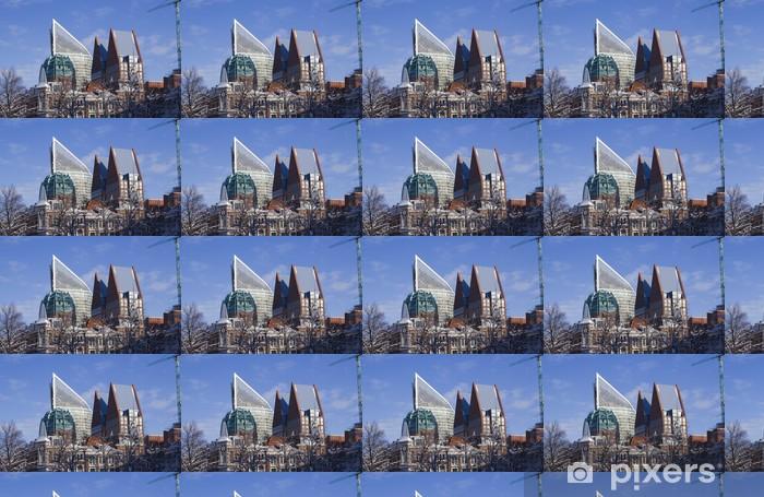Papier peint vinyle sur mesure Panorama de la Haye, Pays-Bas - Europe