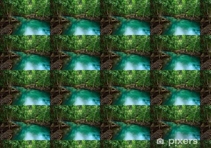 River Vinyl custom-made wallpaper - Seasons