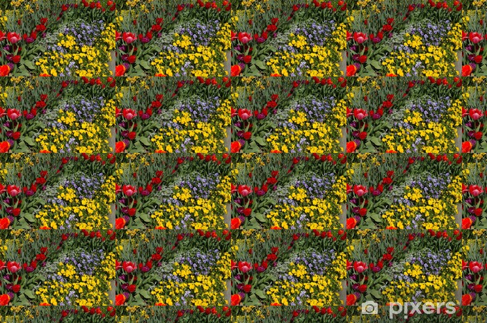 Tapeta na wymiar winylowa Kwiatowy krajobraz - Kwiaty