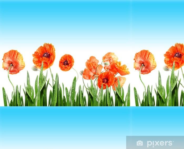 poppies Vinyl Wallpaper - Themes