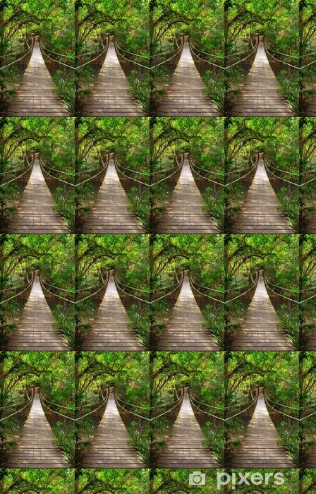 Tapeta na wymiar winylowa Most do dżungli, park narodowy Khao Yai, Tajlandia -