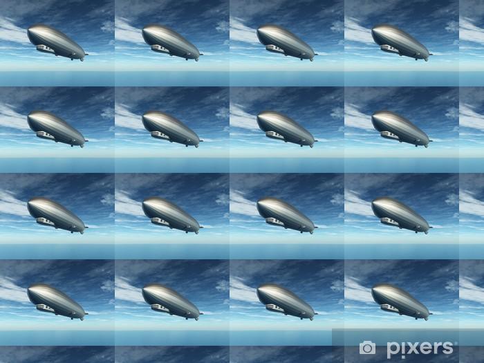 Papier peint vinyle sur mesure Zeppelin - Dans les airs