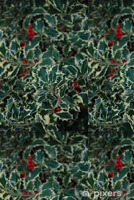 Papier peint à motifs vinyle Houx - Plantes
