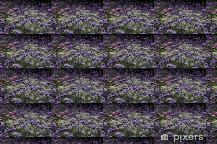 Tapeta na wymiar winylowa Lila Blumenfeld - Kwiaty