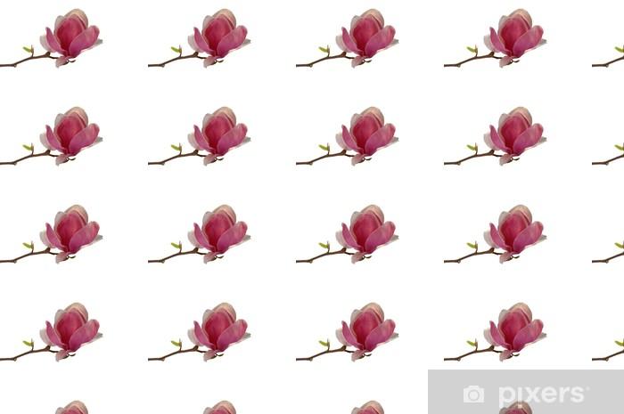 Papier peint vinyle sur mesure Magnolie - Fleurs