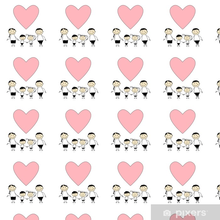 Happy Family With Love Drawing Sketch Wallpaper Pixers We Live
