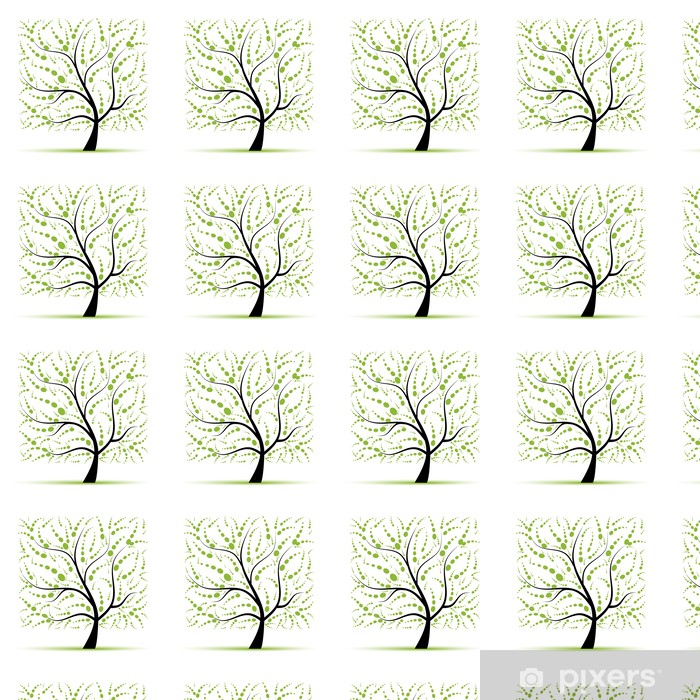 Tapeta na wymiar winylowa Drzewo sztuki piękne projekt - Pory roku