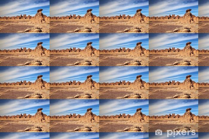 Vinylová tapeta na míru Pískovcové skály v saharské poušti - Pouště
