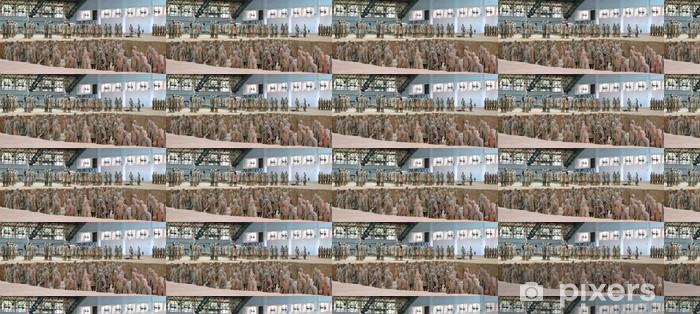 Papier peint vinyle sur mesure Terre cuite guerriers armée, zian, porcelaine, panorama - Villes d'Asie