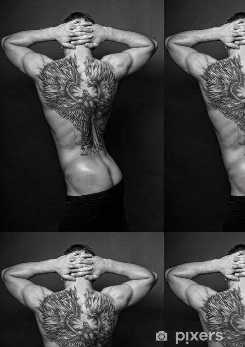 Vinylová Tapeta Moael s andělem tetování - Genderové otázky
