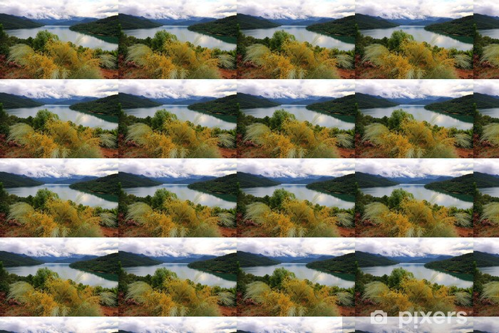 Tranco reservoir Sierra de Cazorla Jaen Andalusia Spain Vinyl custom-made wallpaper - Europe