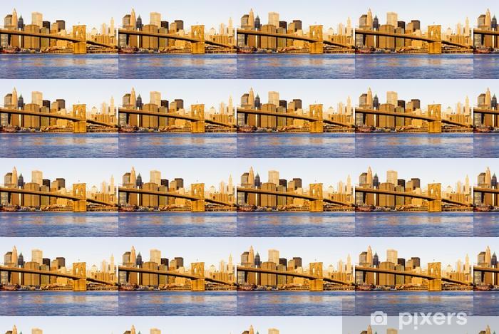 Vinyltapete nach Maß Brooklyn Bridge, Manhattan, New York City, USA - Brooklyn Bridge